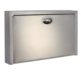 Supreme Baby Change Table Stainless Steel Surface Mounted