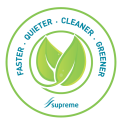 Faster, Quieter, Cleaner, Greener