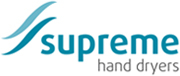 The Supreme Tornade is part of the Supreme Hand Dryers range