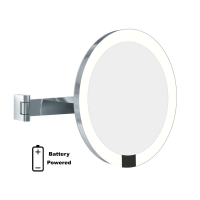 Plume Villas install Aliseo LED Magnification Mirrors